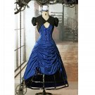 CosplayDiy Women's Dress Doctor Who Inspired Gothic Victorian Dress Steampunk Lady Costume Cosplay