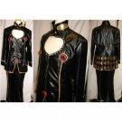 Custom Made JoJos Bizarre Adventure Giorno (Black Version) Costume Cosplay for Halloween Party