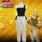 JoJo's Bizarre Adventure Jean Pierre Polnareff Top Pants Women's Clothes Cosplay Costume