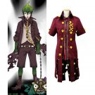 Anime Ao no Exorcist Earth King Uniform Outfit Cosplay Costume Custom Made