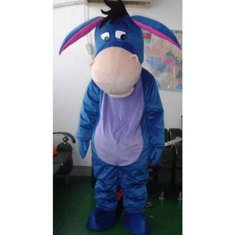 cee5680f15e0 CosplayDiy Unisex Mascot Costume Eeyore Cartoon Character Mascot Adult  Costume For Halloween