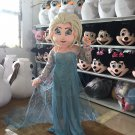 CosplayDiy Unisex Mascot Costume Snow Queen Elsa Mascot Costume Cosplay For Party