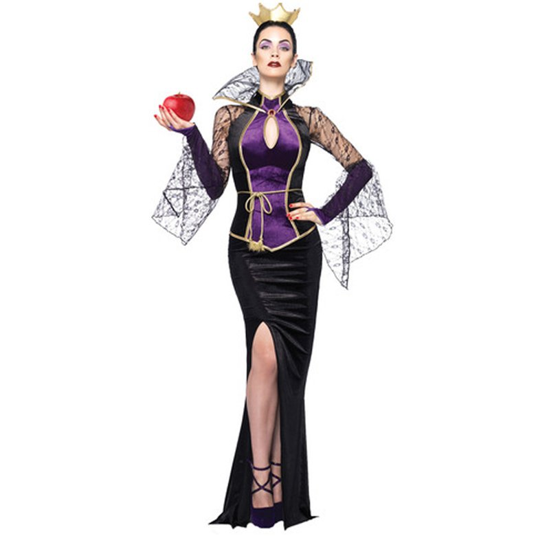 bf57221c29d Snow White Evil Queen Sexy Dress Costume Cosplay For Halloween Carnival  Party