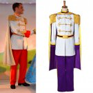 CosplayDiy Prince Costume Purple Cinderella Prince Charming Costume For Christmas