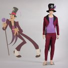 CosplayDiy Men's Costume The Princess and the Frog Dr. Facilier Cosplay For Christmas