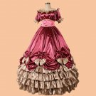 CosplayDiy Women's Dress victorian Gothic Civil War Southern Belle Gown Cosplay Dress