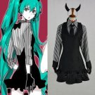 CosplayDiy Women's Dress Vocaloid Hatsune Miku Poker Face Anime Costume Cosplay For Christmas Party