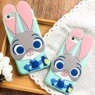 Zootopia Bunny iphone6/6s/6s plus Silicone Unbreak Cute Case
