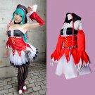 CosplayDiy Women's&Girl's Dress Vocaloid Hatsune Miku Pieretta Costume Cosplay For Christmas