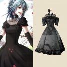 CosplayDiy Women's&Girl's Dress Vocaloid Hatsune Miku Secret-Black Vow Costume Cosplay