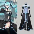 CosplayDiy Women's Dress Vocaloid Hatsune Miku Synchronicity Halloween Costume Cosplay