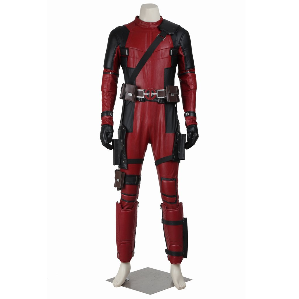 Cosplaydiy Men's Outfit Marvel Comics anti-hero Deadpool ...