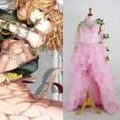 CosplayDiy Women's Dress Rin Kagamine from Vocaloid Cosplay Beautiful Pink Dress Cosplay