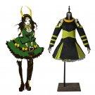 Cosplaydiy Women's Dress The Avengers Hero Loki Cosplay Costume For Halloween