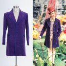 Cosplaydiy Men's Costume Willy Wonka and the Chocolate Factory Jacket Cosplay For Halloween