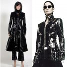 Cosplaydiy Men's Outfit The Matrix Trinity Cosplay Costume For Carnival Party