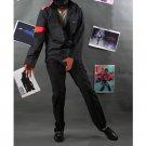 Custom Made Michael Jackson CTE Black Shirt and Pants Adult Stage Cosplay