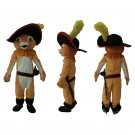 CosplayDiy Unisex Mascot Costume Puss in Boots Cat Costume Cosplay For Halloween&Christmas Party
