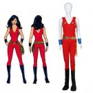 Cosplaydiy Women's Outfit The New Adventures of Wonder Woman Outfit For Christmas Party