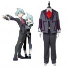 CosplayDiy Men's Outfit Pokémon Steven Stone Uniform Costume Cosplay For Christmas Party