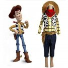 Cosplaydiy Men's Outfit Toy Story Woody Cosplay For Halloween Carnival