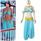 Women Aladdin Jasmine Outfit Costume Sexy Fantasy Carnival Halloween Movie Cosplay