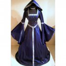 CosplayDiy Women's Purple Medieval Renaissance Victorian Dress Halloween Costume Cosplay