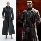 Custom Made Resident Evil 5 Albert Wesker Coat Jacket Costume Halloween Cosplay