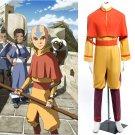 Cosplaydiy Men's Clothing  Vatar The Last Airbender Aang  Cosplay For  Halloween
