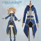 CosplayDiy Women's Outfit Sword Art Online Ghost Bullet Shirica Cosplay Costume Halloween Cosplay