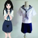 CosplayDiy Women's&Girl's  Dress Japanese Anime Summer Shcool Uniform Cosplay For Party
