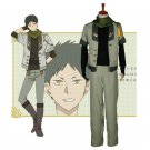 CosplayDiy Men's Costume Snow White with the Red Hair kagami no Shirayukihime Obi Cosplay