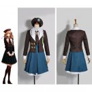 Adult's Short Dress Amnesia Heroine Game Dress School Uniform Halloween Cosplay