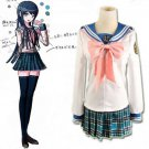 CosplayDiy Women's&Girl's Cute Dress DanganRonpa Maizono Sayaka Costume Uniform Halloween Cosplay