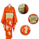 CosplayDiy Women's Dress Danganronpa 2 Hiyoko Saionji Kimono Costume Halloween Cosplay