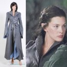 Cosplaydiy Women's Medieval Dress The Lord of the Rings Arwen Chase Costume Dress Cosplay