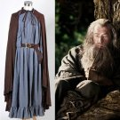 Cosplaydiy Men's Outfit The Lord of the Rings The Fellowship of the Ring Gandalf Cosplay For Party