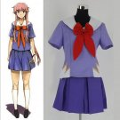 CosplayDiy Women's Dress Mirai Nikki Future Diary Gasai Yuno Costume Halloween Cosplay