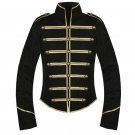 Custom Made Black Gold My Chemical Romance Parade Military Jacket Halloween Cosplay