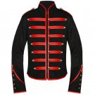 Custom Made Emo Red Military Parade My Chemical Romance Jacket For Halloween Cosplay
