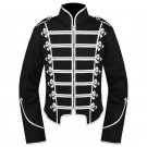 Custom Made Silver My Chemical Romance Black Parade Military Jacket For Halloween Party