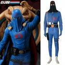 Cosplaydiy Men's Outfit G.I. Joe:The Rise of Cobra Cobra Commander Costume Halloween Cosplay