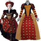 Cosplaydiy Women's Costume Alice's Adventures in Wonderland The Red Queen Cosplay