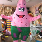CosplayDiy Unisex Mascot Costume Spongebob Patrick Adult Costume For Christmas Party