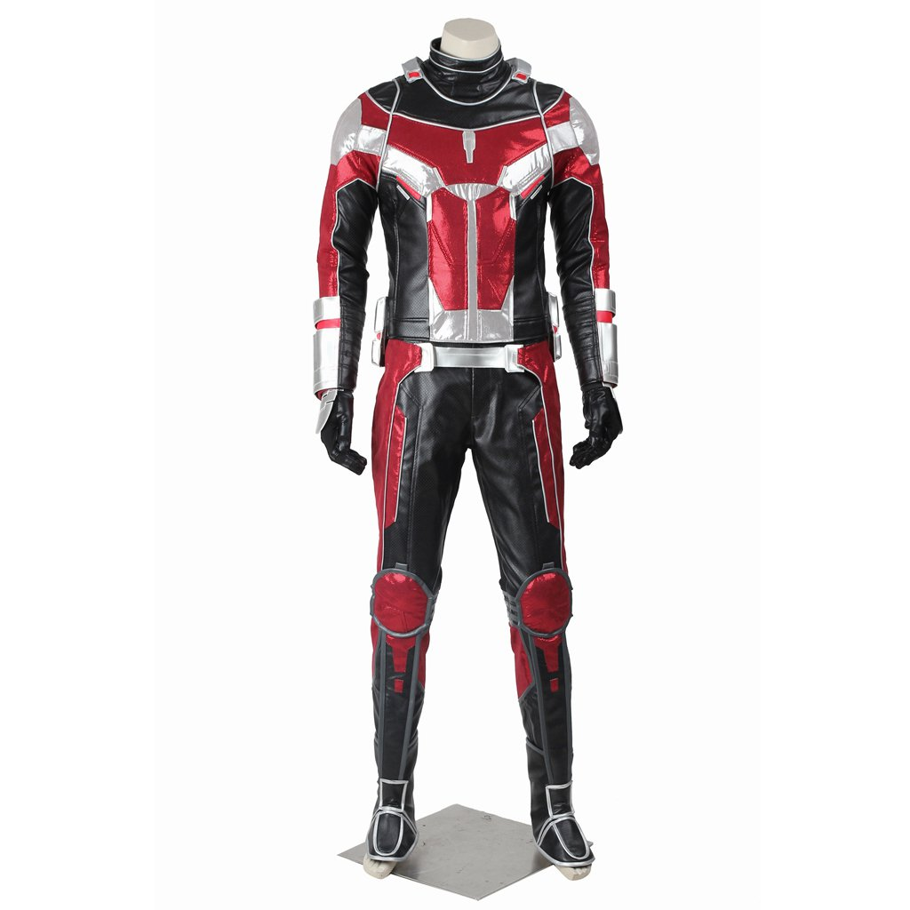 Cosplaydiy Men's Outfit Captain America: Civil War Ant-Man Cosplay Costume For Christmas  Party