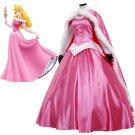 CosplayDiy Women's Sleeping Beauty Princess Costume Pink Dress For Party