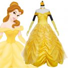 CosplayDiy Women's  Beauty And Beast Princess Belle Dress Cosplay Costume Party