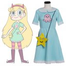 CosplayDiy Girl's Star vs. the Forces of Evil Princess Star Butterfly Dress Cosplay For Party