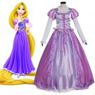 CosplayDiy Women's&Girl's Tangled Rapunzel Princess Dress Costume Cosplay For Party