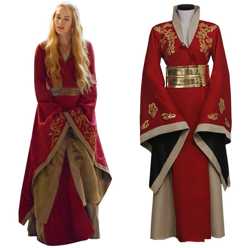 CosplayDiy Women's Game of Thrones Cersei Lannister Cosplay Costume For Halloween
